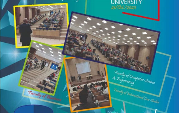 AlAlamein International University hosted the students in orientation day