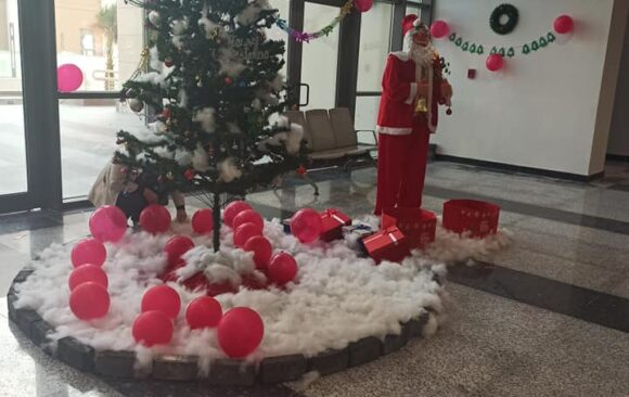 AIU students Celebrate the approaching Christmas holidays