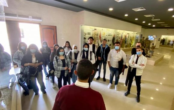 Field trip to AlAlamein Military Museum