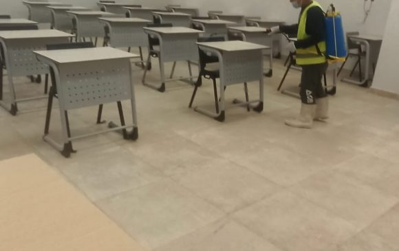 AlAlamein International University preparations for the second mid term exams of semester 2