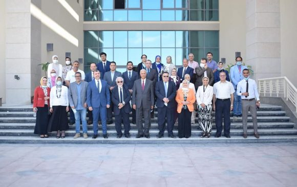 AlAlamein International University held its first annual party on the occasion of the end of the academic year 2020-2021