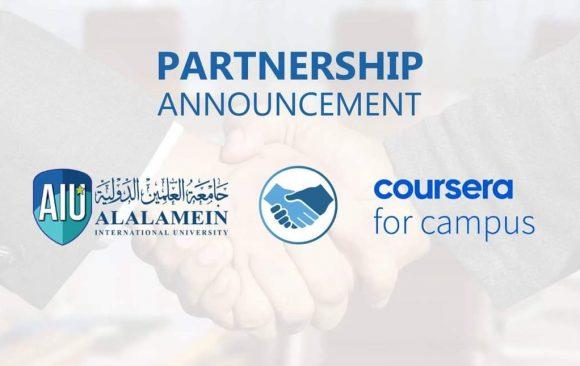 AlAlamein International University is lighthouse partner to Coursera